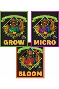 AN Grow, Micro, Bloom - 4 liter each