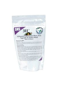 SNS 311 Plant and Vegetable Wash - 4 oz