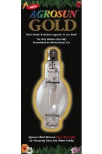1000W AgroSun Gold Hor MH Bulbs - case of 6