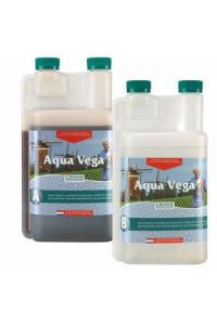 CANNA Aqua Vega Part A and B - 1 liter each