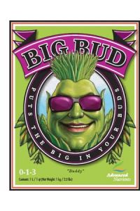 Big Bud Bloom Booster Liquid - 4 liter