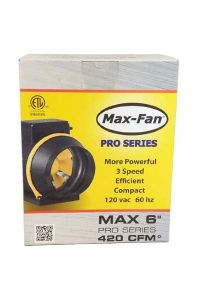 CAN Max-Fan Pro Series - 6 inch