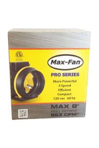 CAN Max-Fan Pro Series - 8 inch