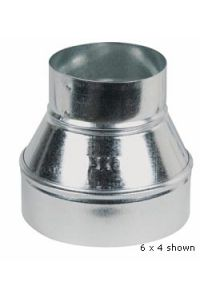 Duct Reducer - 6 x 4