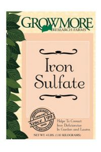 Grow More Iron Sulfate - 4 lb