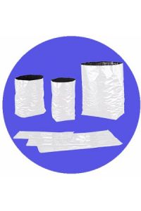 Sunleaves Black and White Poly Grow bags - 1 gallon - set of 10