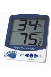 Sunleaves LARGE Display Hygro-Thermometer