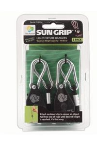 SunGrip Light Hangers - 1 pair