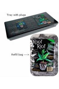 Root Riot Cube Tray with Clonex