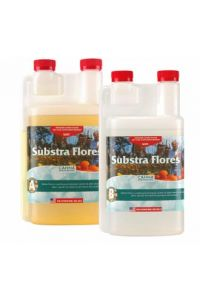 CANNA Substra Flores Part A and B - 1 liter each soft water