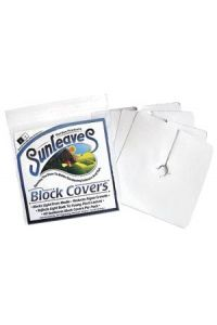 Sunleaves Block Covers   6-1/2 inch