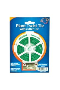 Sunleaves Plant Twist Tie with Cutter - 50 meters