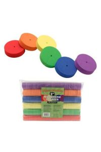 Super Sprouter Multi-Colored Neoprene Inserts - 192 pack