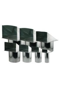Screened Wall Vent - 10 inch