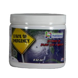 Hurricane Hydroponics State of Emergency